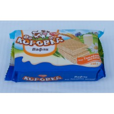 "Wafers ""Cow-milk"" 150gr Ru"