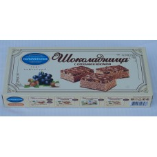 "Wafer cakes ""Chocoladniza-raisins-nuts"" 270gr"