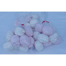 "Zefir(Marshmallow) ""Vanilla/strawberry mix"" bulk 3kg"